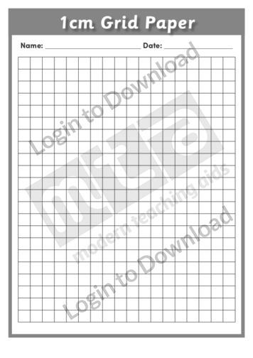 1cm Grid Paper