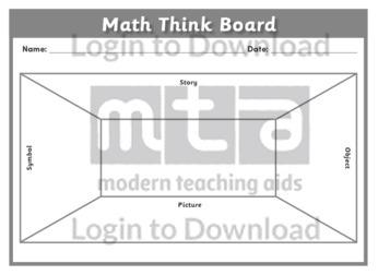 Math Think Board 1