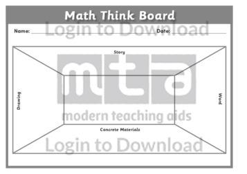 Math Think Board 2