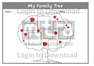 Lesson Zone AU - My Family Tree