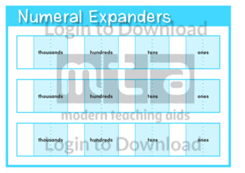 Numeral Expanders Template