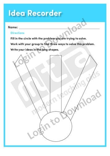 101518E02_ContentAreaReadingIdeaRecorder02