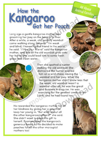 How the Kangaroo Got Her Pouch