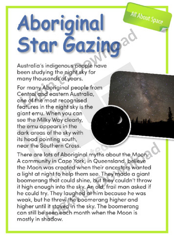 Aboriginal Star Gazing