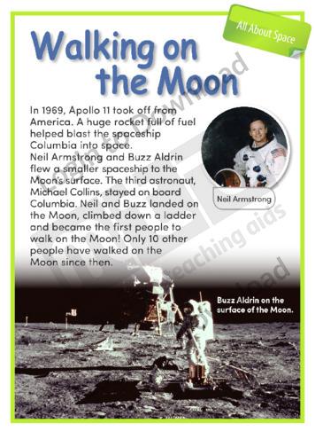 Walking on the Moon (Level 1)