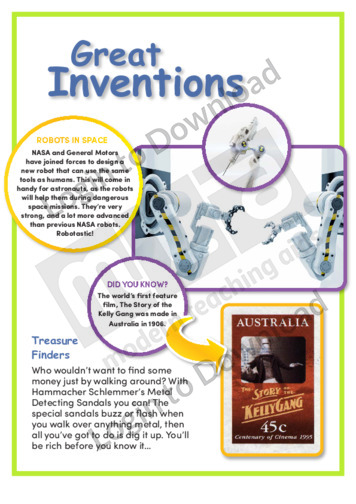 Great Inventions 1