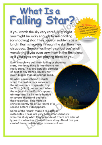 What Is a Falling Star?