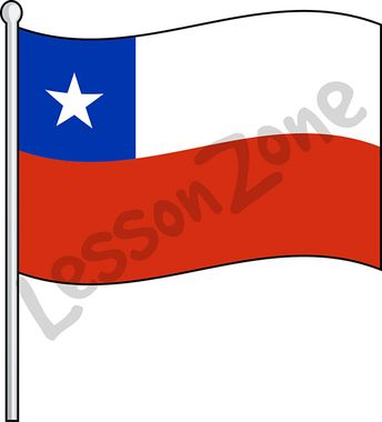 Chile, flag