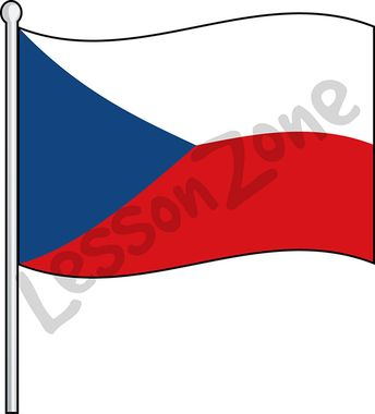 Czech Republic, flag