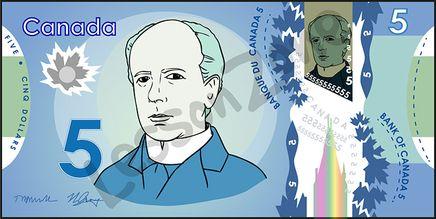 Canada, $5 note