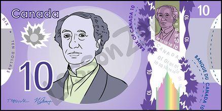 Canada, $10 note