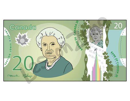 Canada, $20 note