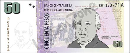 Argentina, $50 note