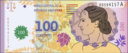 Argentina, $100 note