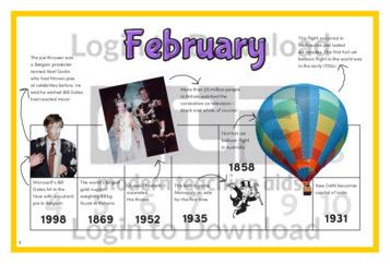 History at a Glance: February
