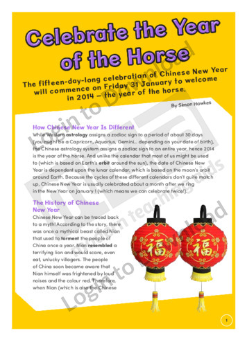 Celebrate the Year of the Horse