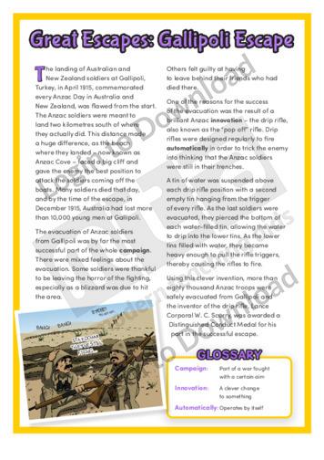 Great Escapes: Gallipoli Escape