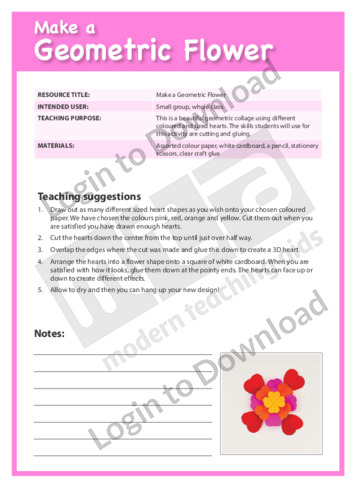 Make a Geometric Flower