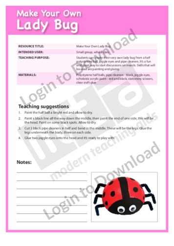 Make Your Own Lady Bug