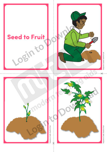 Seeds to Fruit