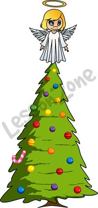 Fairy on Christmas tree