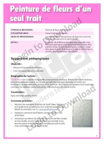 103484F01_ProjetArtistiquePeinturedefleursdunseultrait01