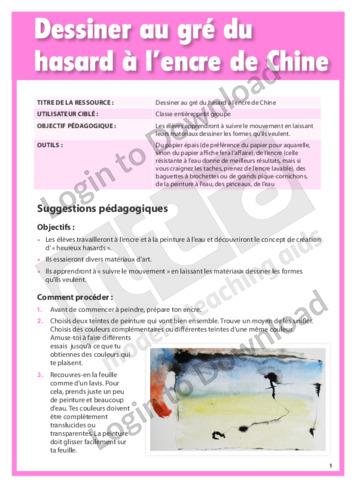 103541F01_ProjetArtistiqueDessineraugréduhasardàlencredeChine01