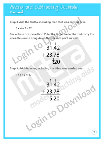 103602E01_NumberandNumericalOperationsAddingandSubtractingDecimals02