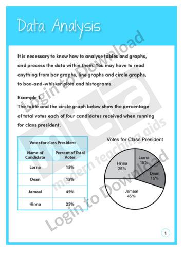 Data Analysis (Level 8)