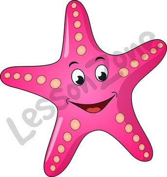 Smiling starfish