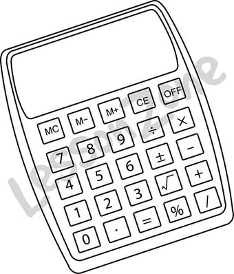 Calculator B&W