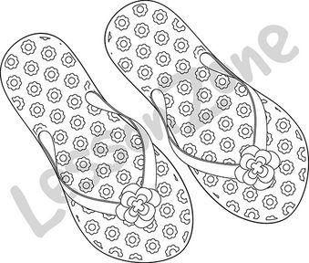 Flip-flops B&W