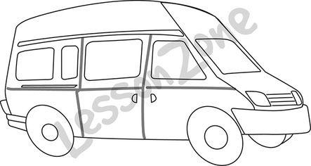 Minivan B&W