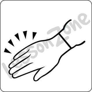 Hand B&W