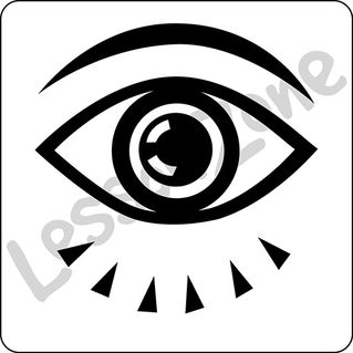 Eyes B&W