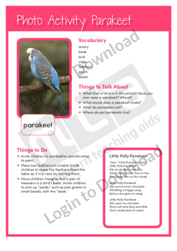 105392E02_PhotoActivity_Parakeet02