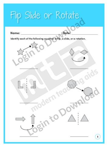 lesson zone au flip slide or rotate 2. Black Bedroom Furniture Sets. Home Design Ideas