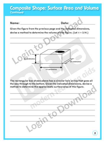 lesson zone au composite shape surface area and volume. Black Bedroom Furniture Sets. Home Design Ideas