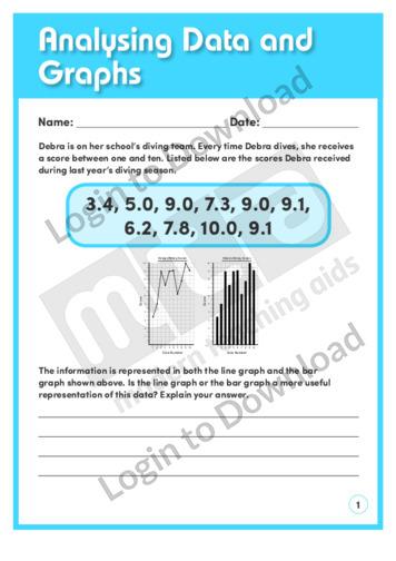 Analysing Data and Graphs