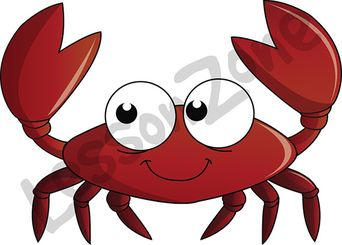 Crab with claw