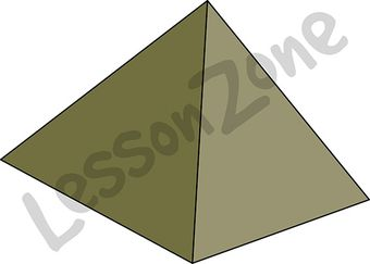 3D shape pyramid