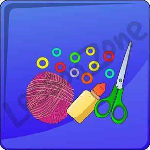 Craft classroom icons