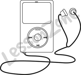 MP3 player B&W