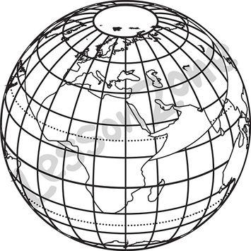 Earth B&W
