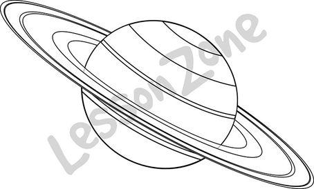 Saturn B&W
