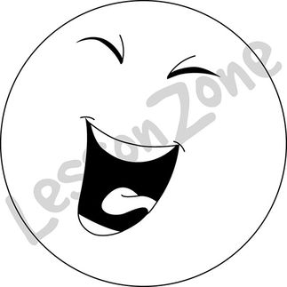 Smiley Face Black And White Laughing | www.pixshark.com ...