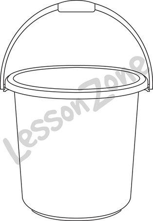 Bucket B&W