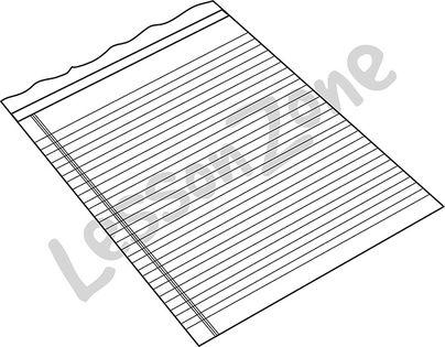 Blank paper B&W