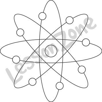 Atom B&W