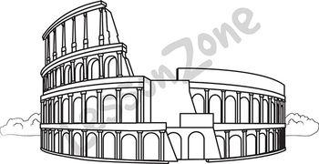 Colosseum B&W